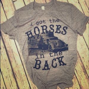 Horses in the back Tee